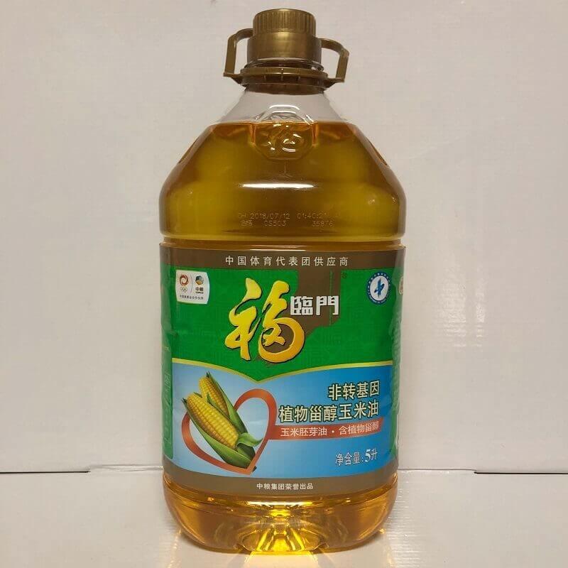 福临门非转基因玉米油 5L