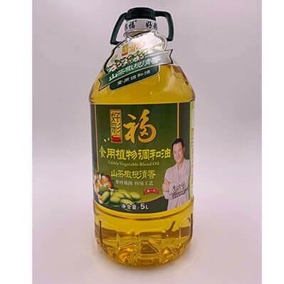 好彩福山茶橄榄油 5L